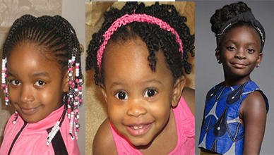 Latest 18 Nigerian Children Hairstyles