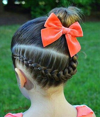 Fairy Girl Hair Bun With Clip