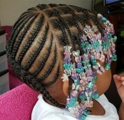 Little Kids Braid Beads