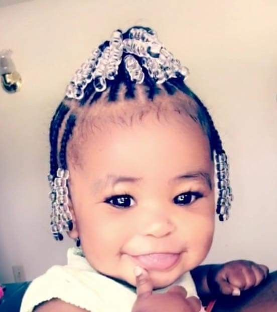Toddler Braided Hairstyles with Beads | Hairstyles & Haircuts for ...
