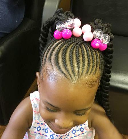 Feed in Braids with Beads