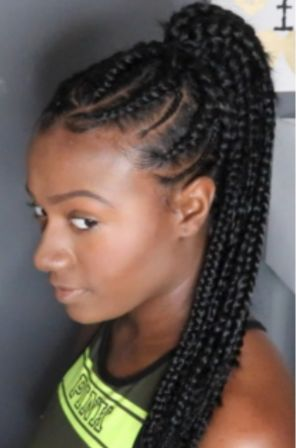 Black Ponytail for African American