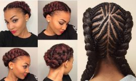 Best 12 Cornrows Hairstyles with 2 Braids