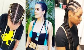 Cute Goddess Braids Styles That Are Age To Do On Natural Hair
