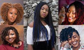 Inspiring 12 Twist Styles on Natural Hair