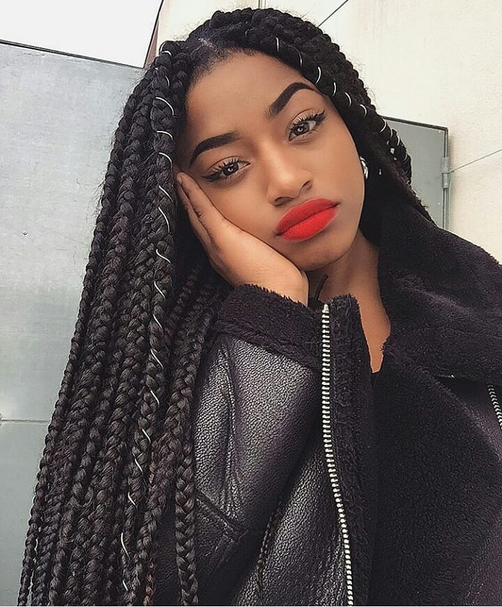 Braid Hairstyles: Cute Box Braids Hairstyles You Will Love