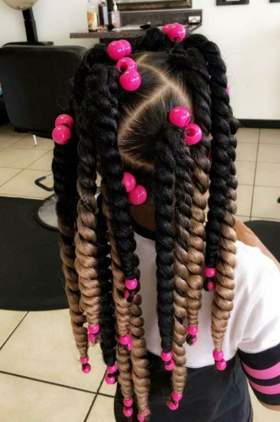 Multicolored Braids
