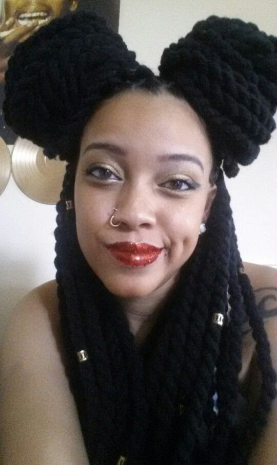 Jumbo yarn twists