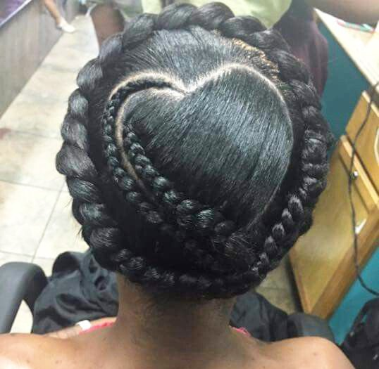 Crowned Love Braids