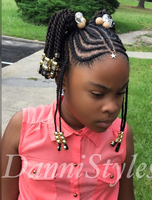 Tribal Braids for Kids