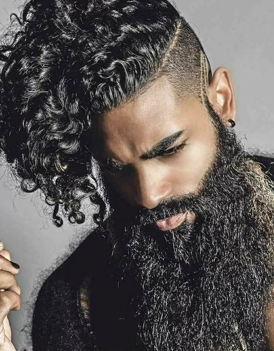 Curls that Suit Beards