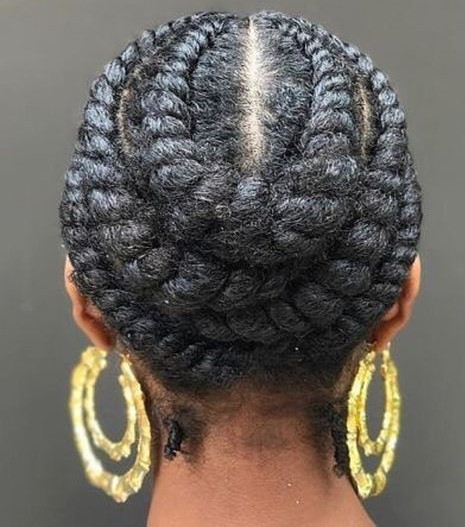 Braids for Flat twists
