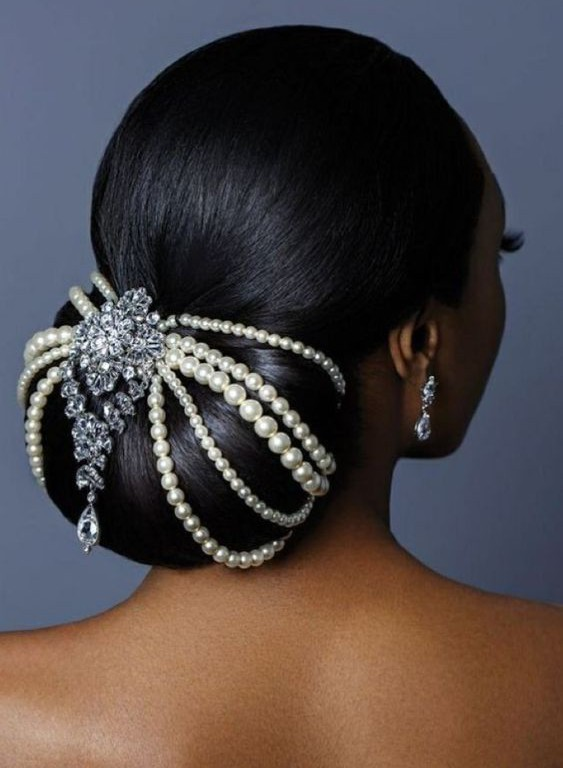 Bun, Beads and Updo