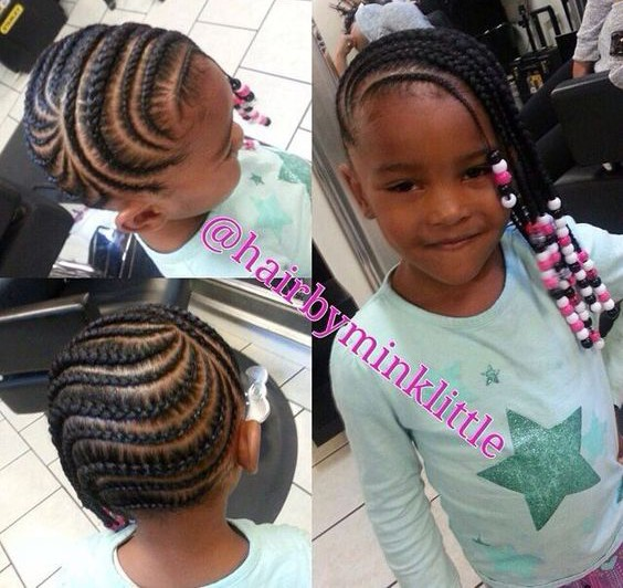 Cute Cornrows And Beads