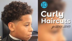10 Best Black Boy Curly Haircuts for 2018-2019