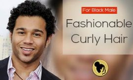 Fashionable Curly Hair Styles for Black Male