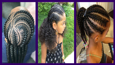 Cute 20 Cornrows for Kids Hairstyles