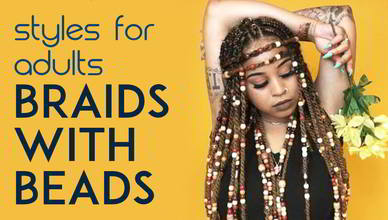 Braids with Beads for Adults