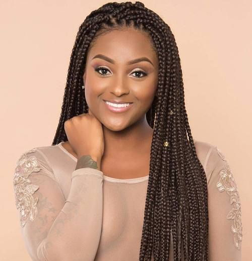 Natural COlored Box Braids