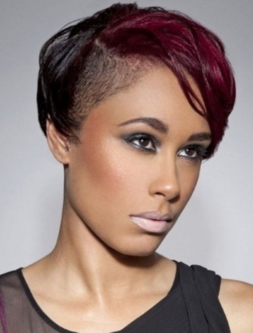 Heighlighted Short Hairstyles