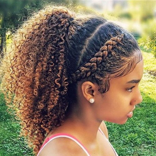 Braids, Ponytails and Curls