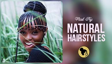 23 Best Natural Hairstyles You Can Try