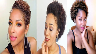 21 Short Curly Hairstyles for Black Women