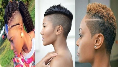 Shaved Sides Haircut For Female Are Trendy