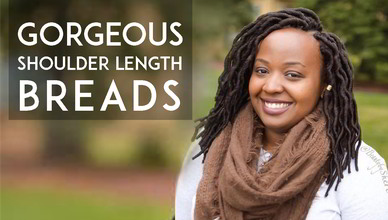 40+ Gorgeous Shoulder Length Dreads You Must See