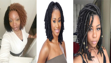 Braids For Short Hair Black Female