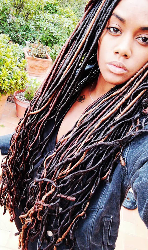 Decorated Dreadlocks