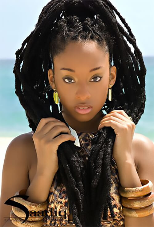 Dreadlocks Ponytail