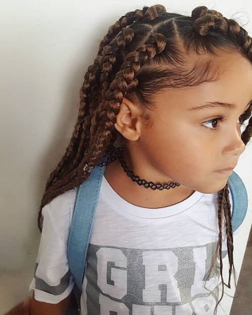 Blonde Accented Braids