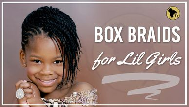 Angelic 23 Box Braids for Lil Girls