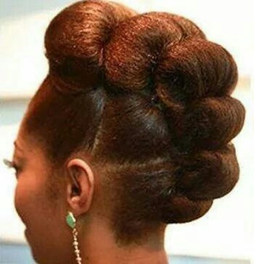 Natural Updo Hairstyle