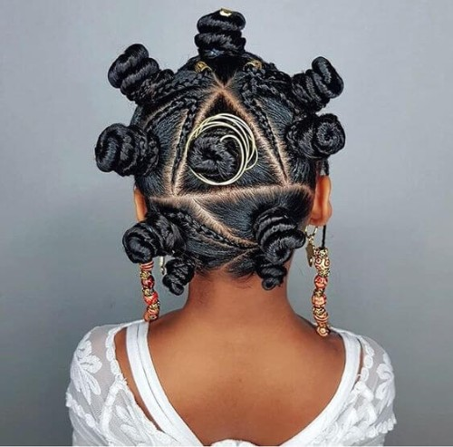 Bantu Knots, Braids and Beads