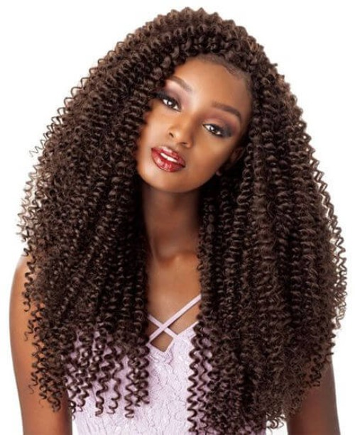 Long Crochet Braids