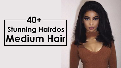 40+ Stunning Hairdos for Medium Hair