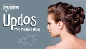 Trending Easy Updos for Medium Hair