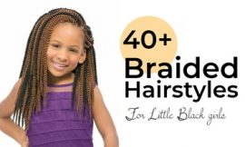 Little Black girls' 40+ Braided Hairstyles