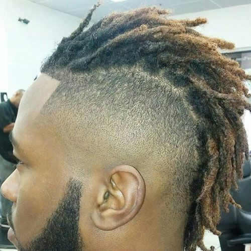Mohawk Dread Men