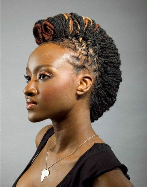 Mohawk Dread Women