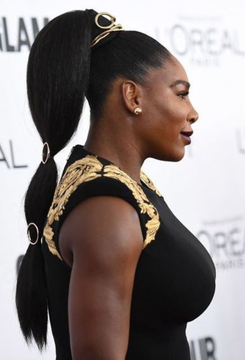 Ponytail for African American Women