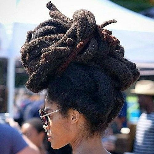 Dreadlock Bun Women