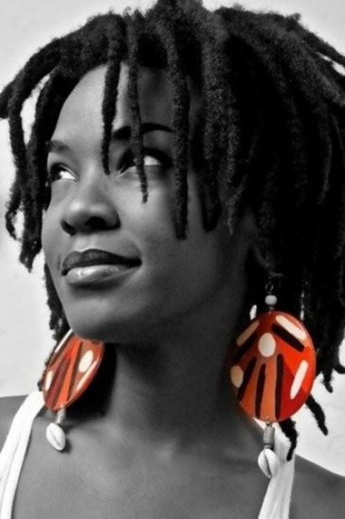 SHort Dreads Women