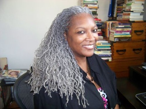 Gray Sisterlocks for Women Over 50