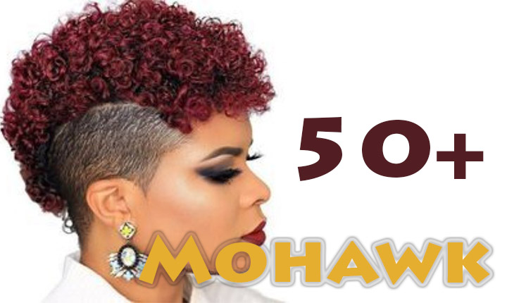 Superb Female Mohawk Hairstyles for Black Women
