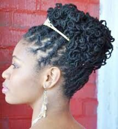 Sister locks hairstyles are being used in a Black wedding in a huge number in present time. Previously the bun hairstyles, the updo hairstyles are the commonly used hairstyles in the African American weddings. But in recent times, the trend of using sister locks has increased significantly. 'Sister locks Hairstyles for Wedding' is now one of the most searched topics on the internet. And we hope you are here to find the best designs and ideas of sisterlocks hairstyles for a black wedding. We will not disappoint you, in fact, you are at the right place to find what you are searching for. This article is written to guide you to 50+ sisterlocks hairstyles for the African American wedding ceremony. In this article, you will also find the pros and cons of the sisterlocks. At the end of the article, you will know almost everything about the sisterlocks and have a profound knowledge of how, when and where to use these super locks. So let's get started. What are Sister locks? sister locks are special kind of hairstyles designed for the African American black women to wear both casually and occasionally. This is actually a synthetic and artificial lock that is thinner than the dreadlocks. You can call them the thinner version of the dreadlocks. The look, design and some other features of these locks hairstyle resemble the dreadlocks. But the sisterlocks are something more than the dreadlocks. They are flexible, cute and amazing to use and wonderful in effect. For whom sister locks are Introduced? sister locks is one of the most beautiful inventions of the hairstyle industries of the black people. This type of locks are created aiming at the black women. The black beauties look more stunning and enchanting with the sisterlocks hairstyles. This hairstyle is a very recent addition to the hairstyles for the black and within a very short span of time, it has become one of the most popular and tops used hairstyles of-of the African American people. Why will you Use sister locks for wedding hairstyles? sister locks is a gentle technique that requires no chemicals, no excessive tightening, and causes no damaging abrasion to the hair or scalp. You will find that with regular care, your locks will grow and grow, and your styling options will increase. sister locks is a lot less limiting than extensions because it is your natural hair. You can curl it, braid it, wear a ponytail, cut it, spray or mousse it, wear bangs and parts - You name it! Though the transition will take more time, your hair care professional who is trained in sister locks techniques can help you make that transition. Your styling options will increase as your natural texture grows out. Can you wear sister locks on your own? This is not advised. Not all hair types require the same locking technique. Your hair care professional is the best trained to give you locks that will be best suited to you. Also, many hair care professionals are trained to give you cuts, styles and grooming tips that will ensure the lasting beauty of your locks. By the way, once your sister locks are well established you can take a Retightening Class to learn how to maintain your own hair. This is great for when you travel, or when you have to miss an appointment, or if you just want to save money on long-term maintenance. Caution: We strongly recommend that you see a Consultant 2-3 times a year to keep your sister locks looking beautiful!. If you still want to make your hairstyle on your own, you can try the YouTube videos and take a close experience from that. How long does it take to do sister locks? The initial locking process takes about two thirds as long as getting extensions of comparable size. For medium length hair, this means about eight to twelve hours (maybe longer!). The beauty of sister locks is that tightening them as your hair grows out is extremely simple since there are no extensions to remove and re-set. Is there any threat using the sisterlocks hairstyles? sister locks is a friendly hairstyle for your natural hair and scalp. It is a gentle technique that requires no chemicals, no excessive tightening, and causes no damaging abrasion to the hair or scalp. You will find that with regular care, your locks will grow and grow, and your styling options will increase. Hope you have found the answers to your questions regarding the sisterlocks hairstyles. And hope you also have understood why the sisterlocks hairstyles are becoming more and more popular for the African American wedding. Besides, the sisterlocks are being used at a large extent in the regular styling of hair. you will find a significant number of women wearing the sisterlocks in the street, office, and workplace. Apart from these, the sisterlocks hairstyles is a great choice for a date. If you are planning a date with your boyfriend in the near future, the sisterlock can give you the best appearance and appeal. You boyfriend will just love it. We have provided 50+ designs of sisterlocks which are not only for the black wedding, you can use this hairstyle for your day to life. Now it's your turn, from the displayed images, pick the right one or the best one for you and ask your stylist to do that hairstyle for you. Within a very short span of time, you will look like a heavenly angel or a living princess. As your appearance is the most important part of the wedding, we suggest you choose the best one according to your face shape, hair length, and hair color. Don't worry, you will rock the day. We are at the end of the discussion for today. Hope, we have become able to pacify your quest for interlocks hairstyles for a wedding. If you are the bride going to marry the sisterlocks, congratulations! Do not forget to let us know about your experience, feedback, and suggestions. The comment box below is all yours. Put your valuable opinion on it and directly send to us. Your feedback encourages us to write something new for you. Thank you. Stay beautiful, Keep beautiful.