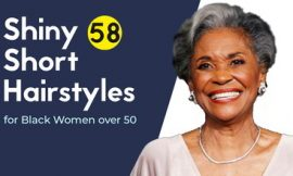 Shiny 58 Short Hairstyles for Black Women over 50