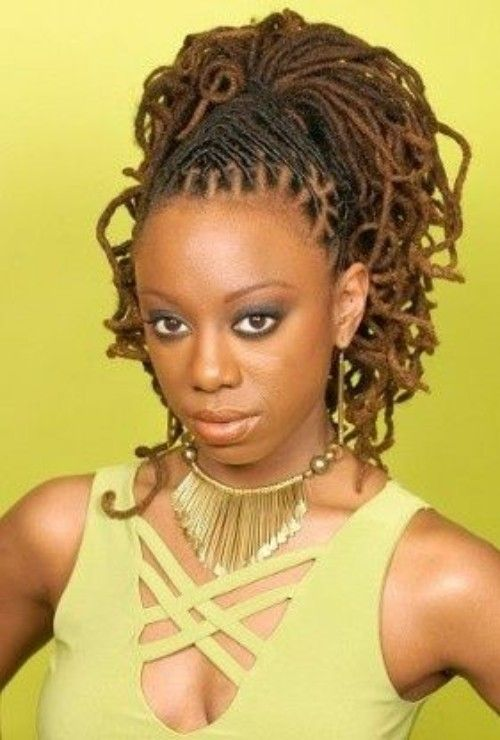 Dreadlocks High Ponytail